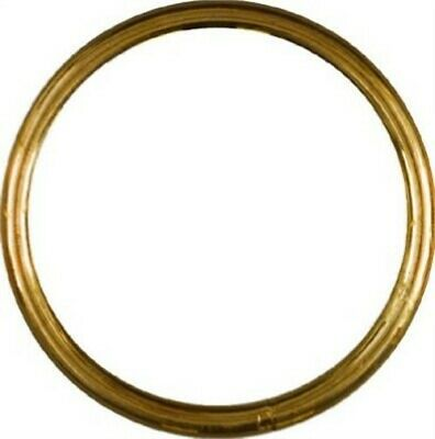 "National #N258-756 2"" Solid Brass Ring,No N258-756,  National Mfg Co"