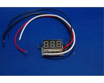 DC 0-10A Ammeter LED Digital Display Mini DC Digital Current Meter 0 to 10A UK