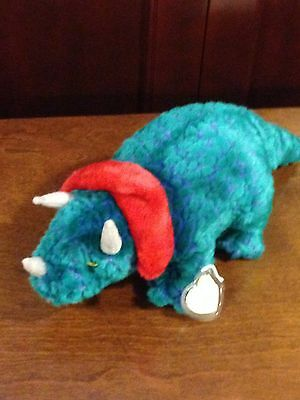 Retired Ty Beanie Buddy Hornsly The Dinosaur  Mint With Tags