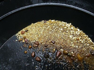 1 lb. Gold Paydirt Bag, Unsearched + Gold Added!