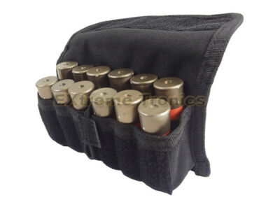 CONDOR BLACK MOLLE 12 Shell Shotgun Ammo Shells Reload Pouch Holster MA12