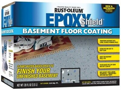 Epoxyshield Basement Floor Coating,No 203007,  Rust-Oleum