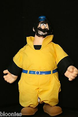 "Popeye 21"" BRUTOS BLUTO Plush Toy Doll 1986"