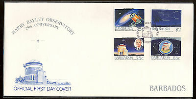 1988 Barbados - 25Th Anniversary Harry Bayley Observatory - Fdc - Cover - J26