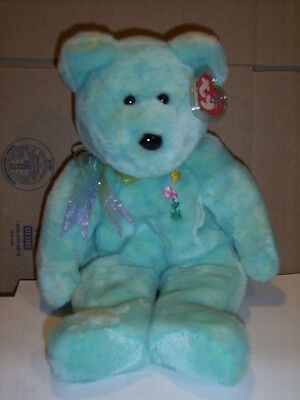 Retired Ty Beanie Buddy  Ariel The Bear  Mint With Tag
