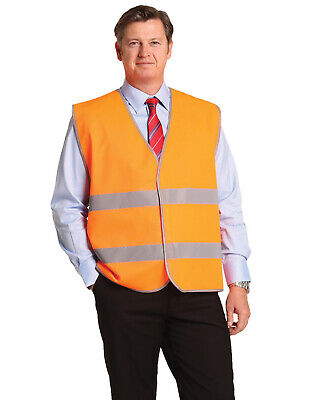 5 of  AIW SW44; High Visibility Safety Vest 100% Polyester w 3M Tapes