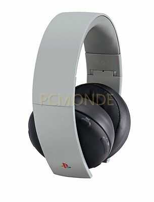 Sony PlayStation Gold Wireless Stereo Headset 20th Anniversary Edition d5f2e4b38558