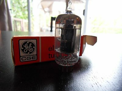 4 X 8106 Electronic Vacuum Tubes GE Radio Amplifier Audio Black New In Box NOS