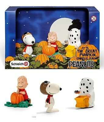 Snoopy Schleich-S 2015 / 2016 Peanuts Gift Pack 3 Figure Halloween Set 22015