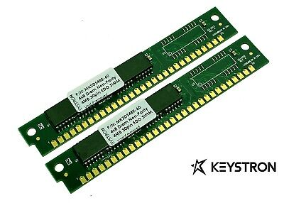 2x 4MB 8MB 30pin SIMMs RAM MEMORY non-parity 4x8 for Creative Labs AWE32