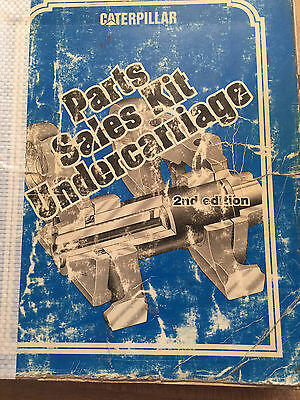 CAT Caterpillar Parts Sales Kit Undercarriage 2nd Edition
