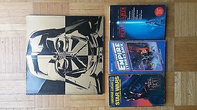 Starwars First Edition Set + Starwars: From Concept to Screen to Collectible