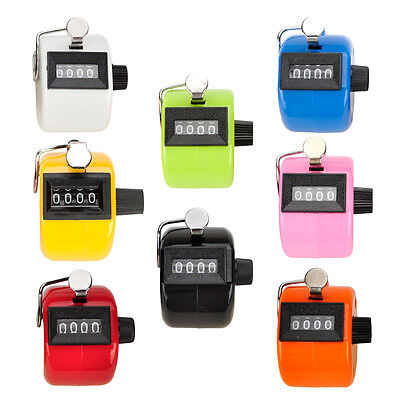 GOGO Handheld Tally Counter 4 Digit Display for Lap-Sport-Coach-School-Event