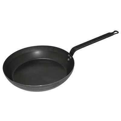 Vogue Black Iron Fry Pan 200mm Frying Kitchenware Cooking Cookware With Handle