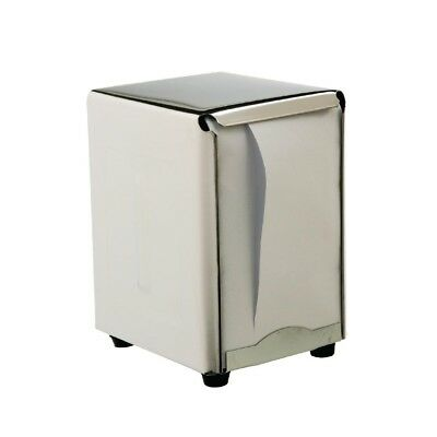 Napkin Dispenser Stainless Steel Serviette Paper Holder Catering Disposables