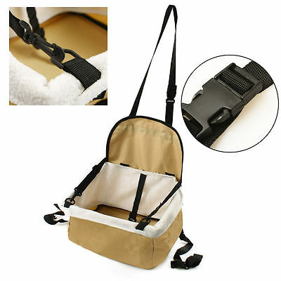 Pet Carrier Dog Cat Car Booster Seat Soft Crate Portable Cage Travel Bag Small