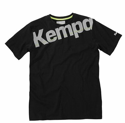 Kempa Core T-Shirt, Kinder, schwarz
