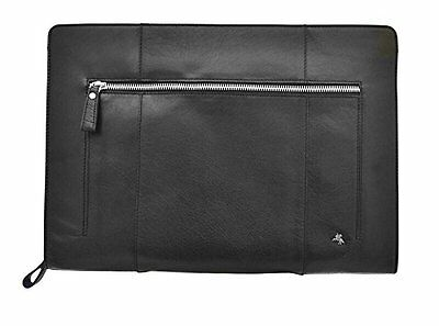 Visconti ML26 Buffalo Leather Zip Around Document Holder Work Folio Case Bag