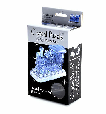 3D Crystal Puzzle - Steam Train