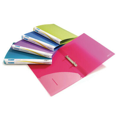 Rapesco A4 Ring Binder 15mm Assorted (Pack of 10) 0799