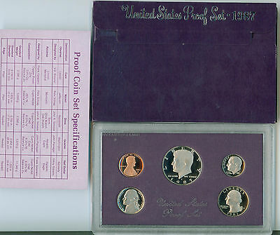 1987 USA PROOF SET  Mint IN CASE