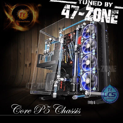Thermaltake Core P Mid Tower Wall Mount Open Chassis ATX Gaming Computer Case