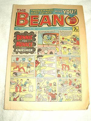 UK Comic Beano issue 1977 June 7th 1980