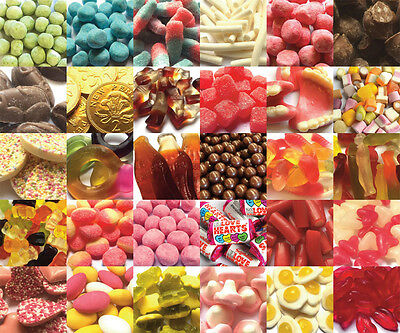 Traditional Retro Sweets - Wedding Favours - Party Bag - Pick n Mix Candy Buffet