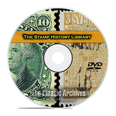 Stamp Collecting Library, 224 Books, Philately, Vintage Price Guides PDF DVD E81