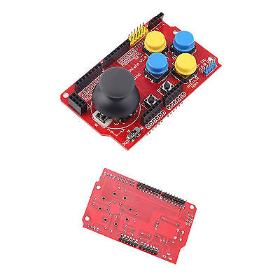 3.3-5V Gamepad Joystick Shield Module For Arduino Simulated Keyboard Mouse NEW