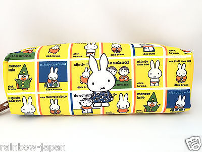 Miffy Cube Pen Pouch Bag Case Kawaii From Japan