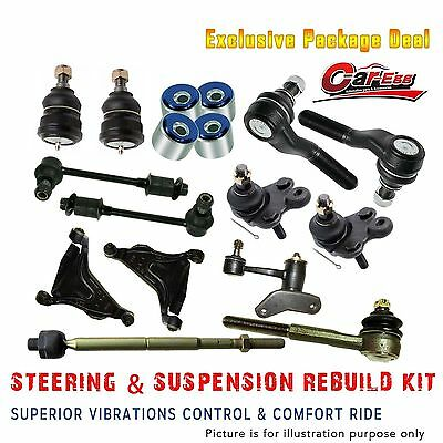 Commodore VL Full Front Suspension Rebuild Kit Tie Rod Ends Sway Bar Control Arm