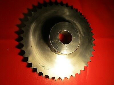 Martin Sprocket & Gear 80B39 SS Single 80 Chain, 39 Teeth, Stainless Steel 2""
