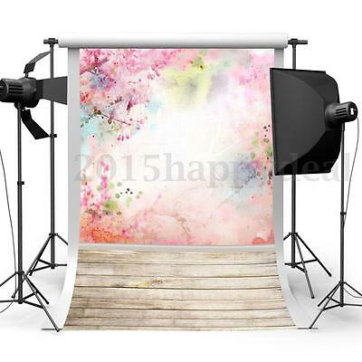 3x5FT Retro Wood Wall Photography Backdrops Photo Props Studio Background Hot