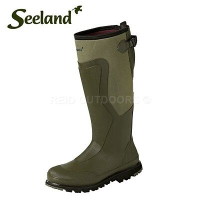 "Seeland Moor Stable 18"" 5mm Neoprene Lined Wellington Boots SALE 40%OFF LIMITED"
