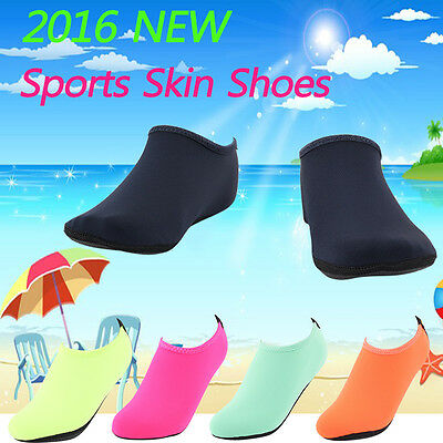 Aqua Socks Shoes Borefoot Yoga Exercise Pool Beach Dance Swim Slip On Surf Men