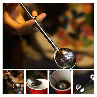 Stainless Steel Ball Loose Tea Leaf Infuser Spice Strainer Filter Herb Diffuser