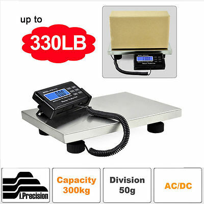 US Commercial Scales Digital Platform Postal Scale Electronic Weight 0.1-300KG