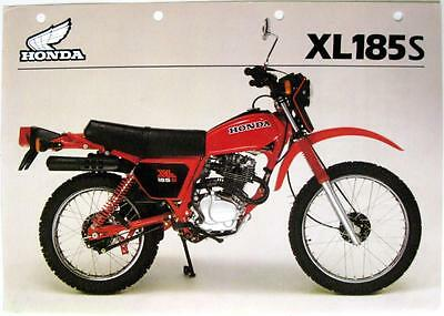 Honda xl185s service manual