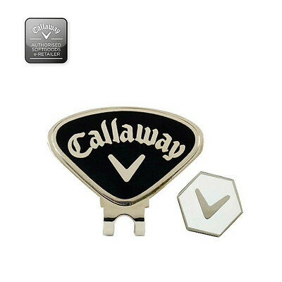Callaway Magnetic Hat Clip with Ball Marker-New