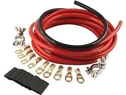 QuickCar Battery Cable Kit 2 Gauge wire