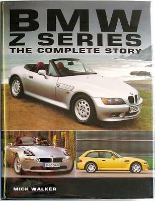 Bmw Z Series The Complete Story - Mick Walker Isbn:1861264240 Car Book