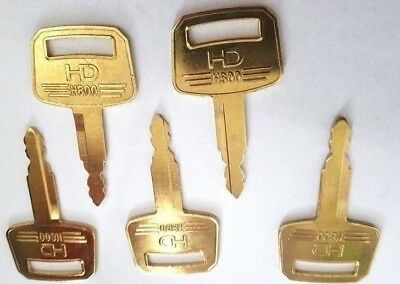 X 5 pack h800 excavator key replacement hitachi professional smith service plant
