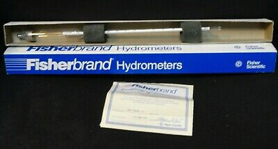 Fisherbrand * FISHER * HYDROMETER * (NEW in the BOX) * 11-520C * 1.40-1.62
