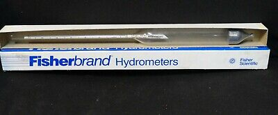 Fisherbrand * FISHER * HYDROMETER * (NEW in the BOX) * 11-555R * 1.540-1.610