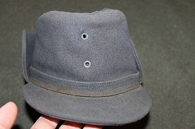 Early W. German Army Cold Weather Wool Field Hat with Fold Down Sides, 1967 d.