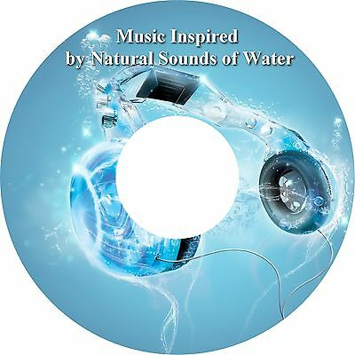 Music Inspired by Natural Sounds of Water CD Relaxation Stress Relief Deep Sleep