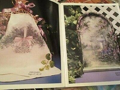 Gran's Garden Painting Book-Ros Stallcup-Sunflowers/Poppies/Ferns/Angel/Daisies