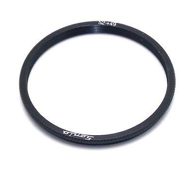 Metal Step down ring 52mm to 49mm 52-49 Sonia New