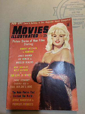 Movies Illustrated 1963 Jane Mansfield  Cover